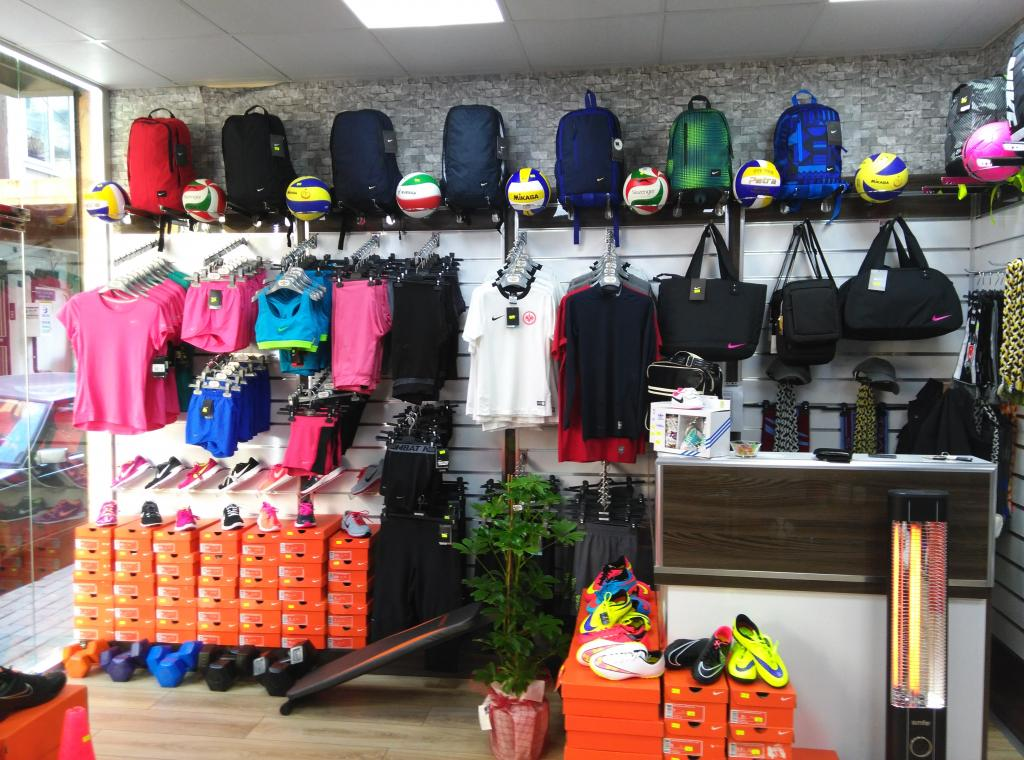 Aydın spor malzemeleri ve tişört baskı mağazası