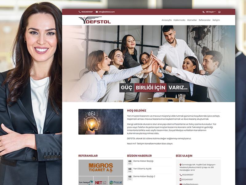Defstol - NeoCloudy Kolay Panel Web Site