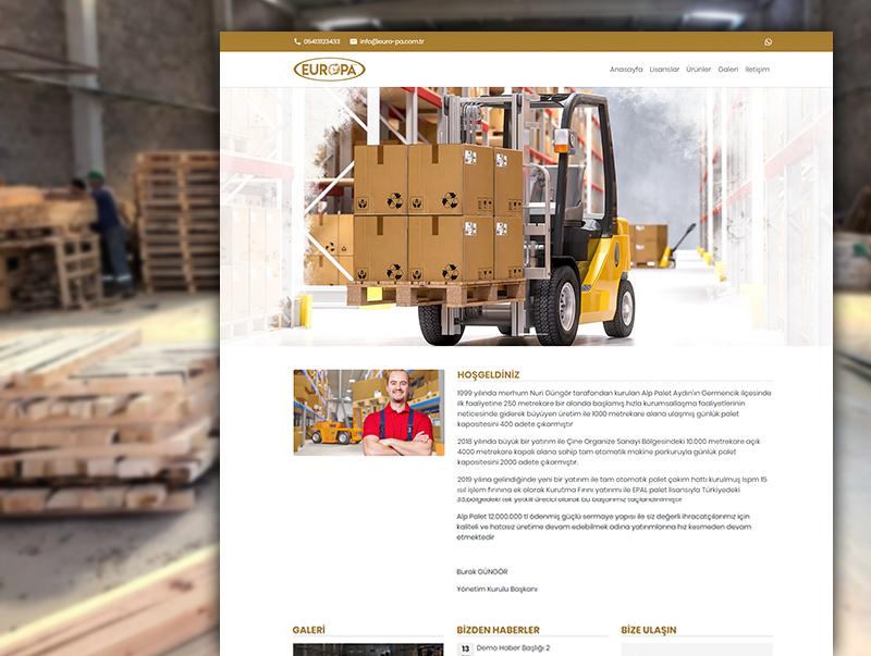 EuroPa Orman Ürünleri - NeoCloudy Kolay Panel Web Site