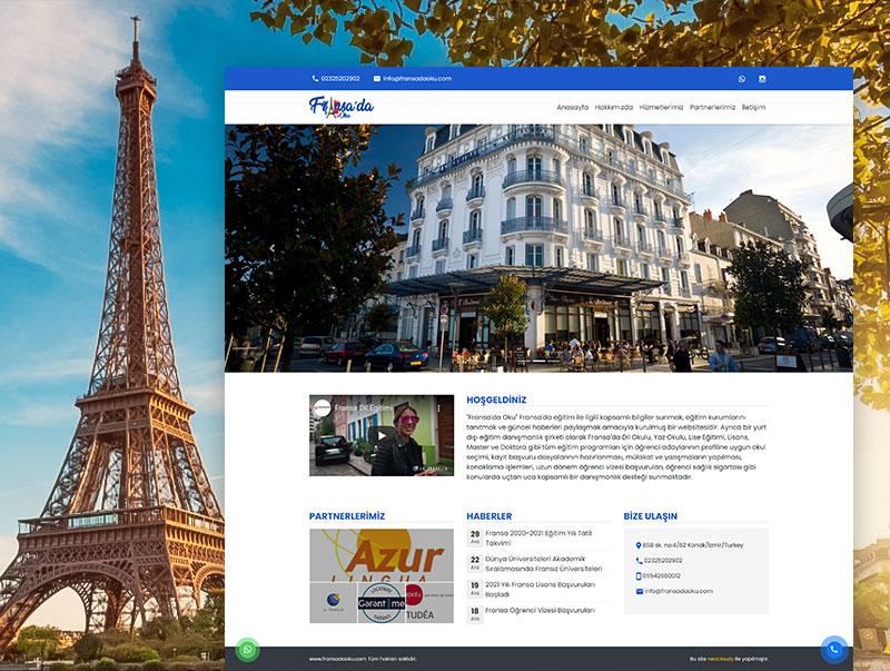 Fransada Oku - NeoCloudy Kolay Panel Web Sitesi