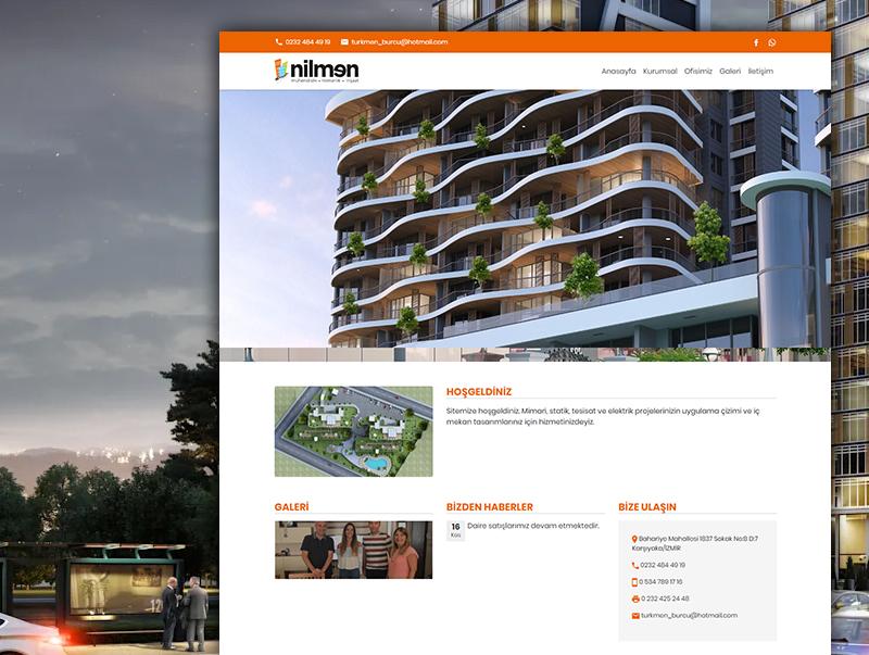 Nilmen Mimarlik - NeoCloudy Kolay Panel Web Site